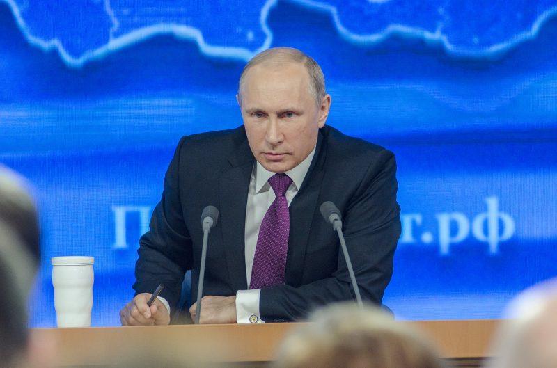 Vladimir Poutine, possible président au pouvoir jusqu'en 2036